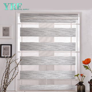 Soft Smooth Fabric Roller Windows Blinds Zebra Rolety